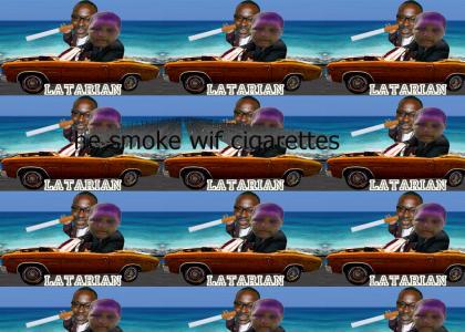 Latarian Took his Granma's Car