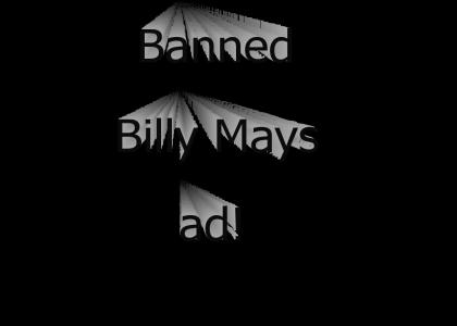 Banned Billy Mays ad!