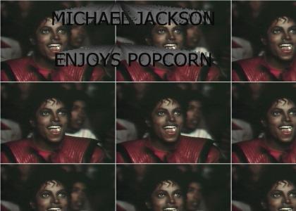 Michael Jackson Loves His Popcorn