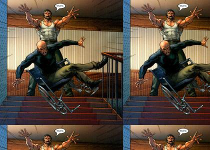 Professor X had ONE weakness!