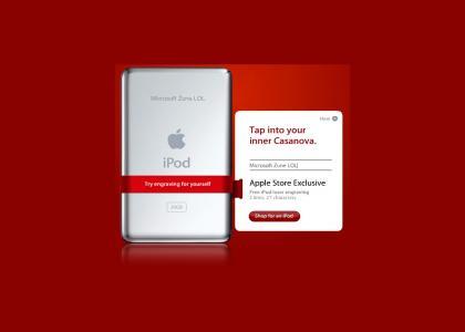 Free Custom Engraving on iPod?!?!
