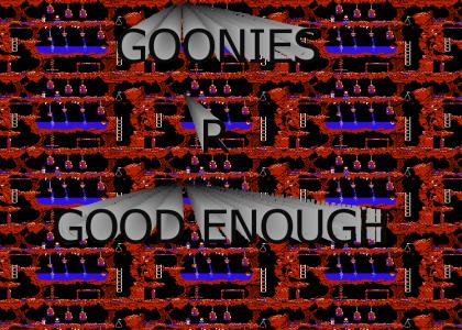 THIS IS A GOONIES GAME