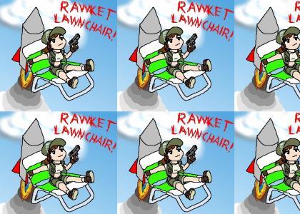 Rocket Lawn Chair