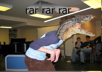 ROFL Raptor Jesus