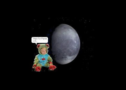 Frog Baby Says Pluto Is A Planet
