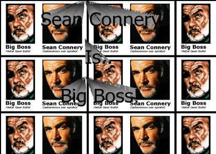 Sean Connery = Big boss?