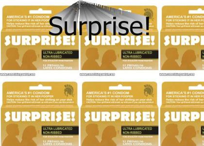 Surprise Brand Condoms