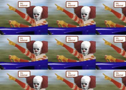 Pennywise takes over lol internet