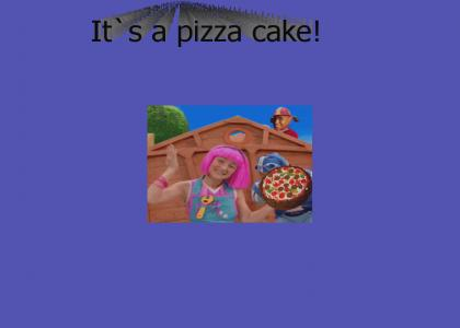 It's a pizza cake! (full song)
