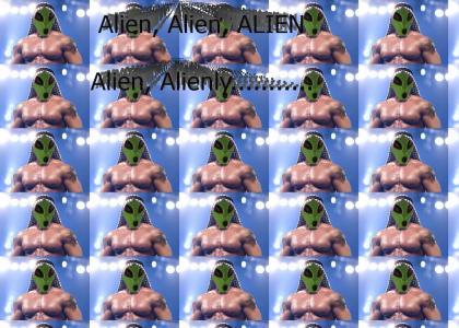 WWE Alien Conspiricy?