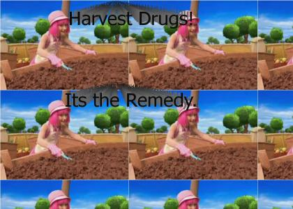 Lazy Town Stephanie Says: Harvest Drugs