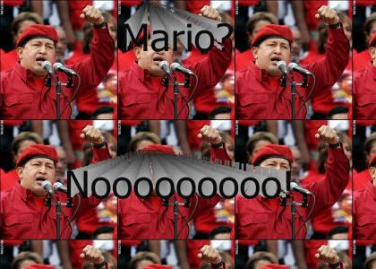 Hugo Chavez is... Mario?