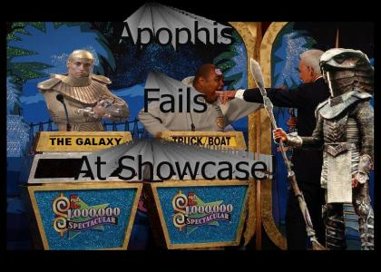 Apophis Fails at Price is Right