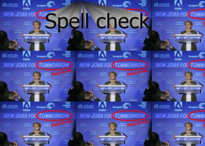 Hillary Clinton has one weakness