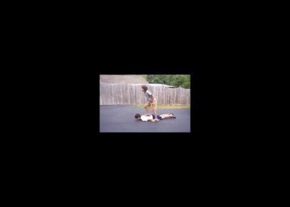 Butt Racing - Fat Dudz Kickflip
