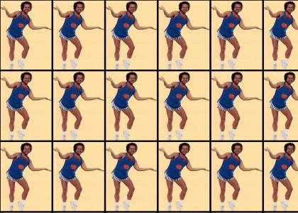 Richard Simmons likes to DANCE