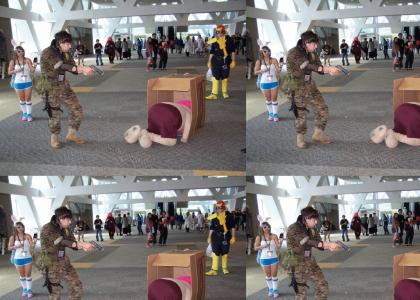 Epic cosplay manauver
