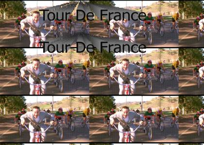 Pee Wee in the Tour De France