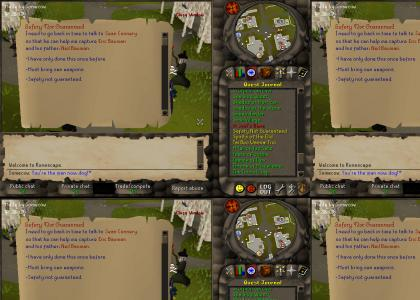 Runescape: Safety Not Guaranteed