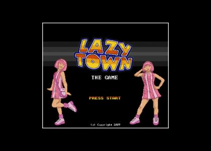 LazyTown game (16-bit)
