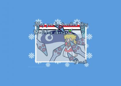 Tentacle Rape Christmas with Princess Peach
