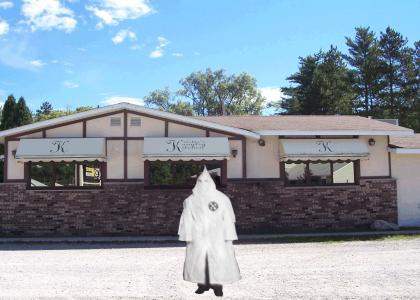 Secret KKK Restaurant