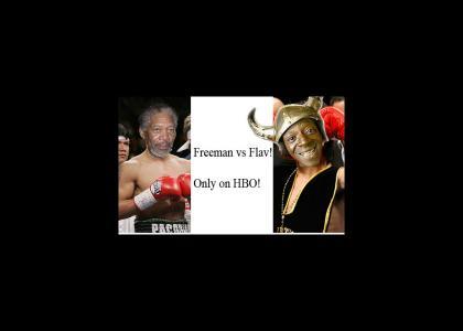 Morgan Freeman vs Flava Flav