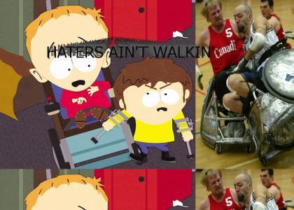 HATERS AIN'T WALKIN'