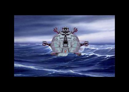 Wreck of the Technodrome
