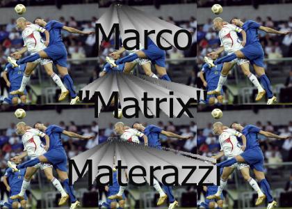 Materazzi > Zidane