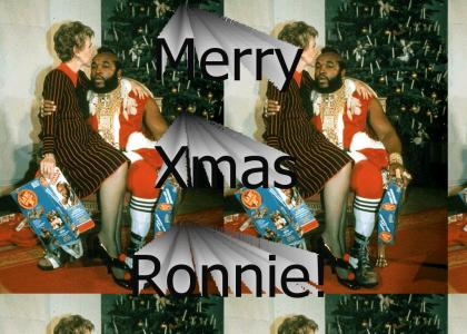 Nancy Reagan Loves Mr. T