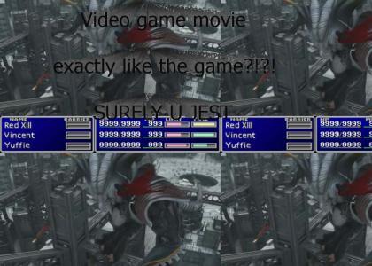 Video game movie??????