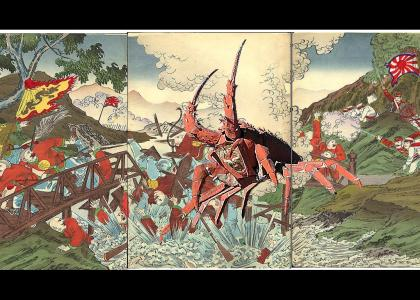 Giant Enemy Crab in Japanese History II: Sino-Japanese War