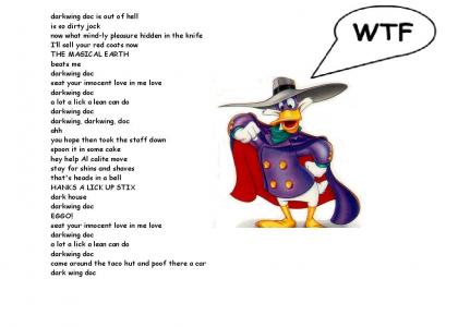Interpretation of Darkwing Duck