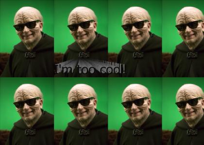 Palpatine is too cool.