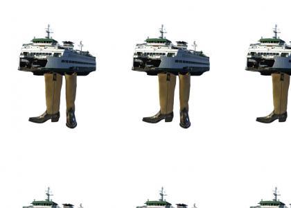 Ferries wear Boots