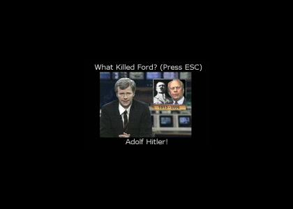What killed Gerald Ford?