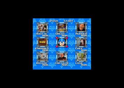 Megaman selects a fad again