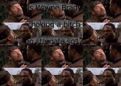 Alien Wayne Brady Choking a Bitch