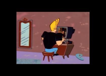 Johnny Bravo Likes Internet Porn