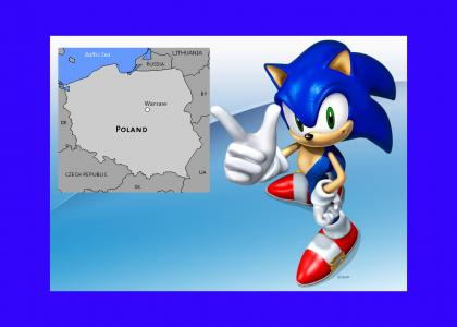Sonic gives advice on poland (featuring macgyver)