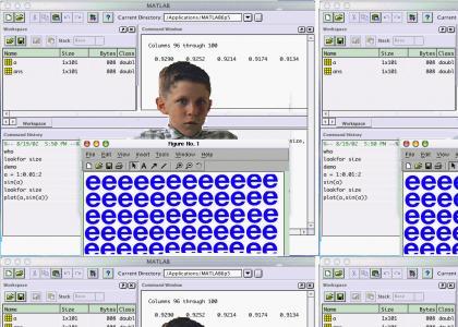 Forrest Gump Doesn't Understand Matlab