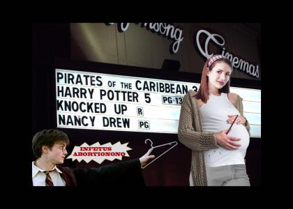 Harry Potter knocked up Nancy Drew