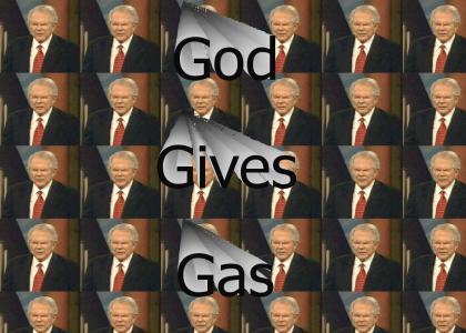 God gives us gas