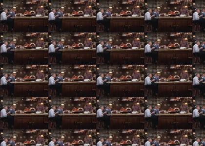 TOURNEY3: Ted Danson has bartending skill