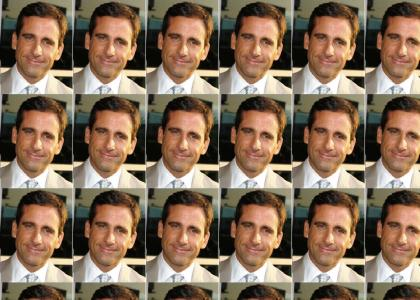 Steve Carell Doesn't Change Facial Expressions