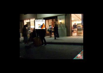 KOENTMND: Matlab spoiler bookstore crash
