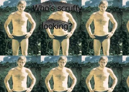 Scruffy Harrison Ford