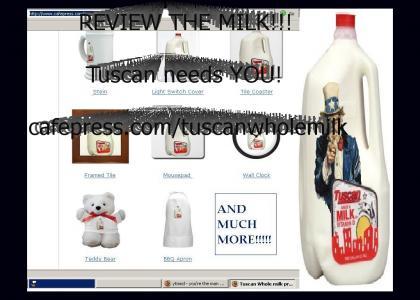 Tuscan Whole Milk Needs YOU
