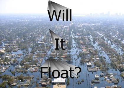 Hurricane Katrina answered one question...